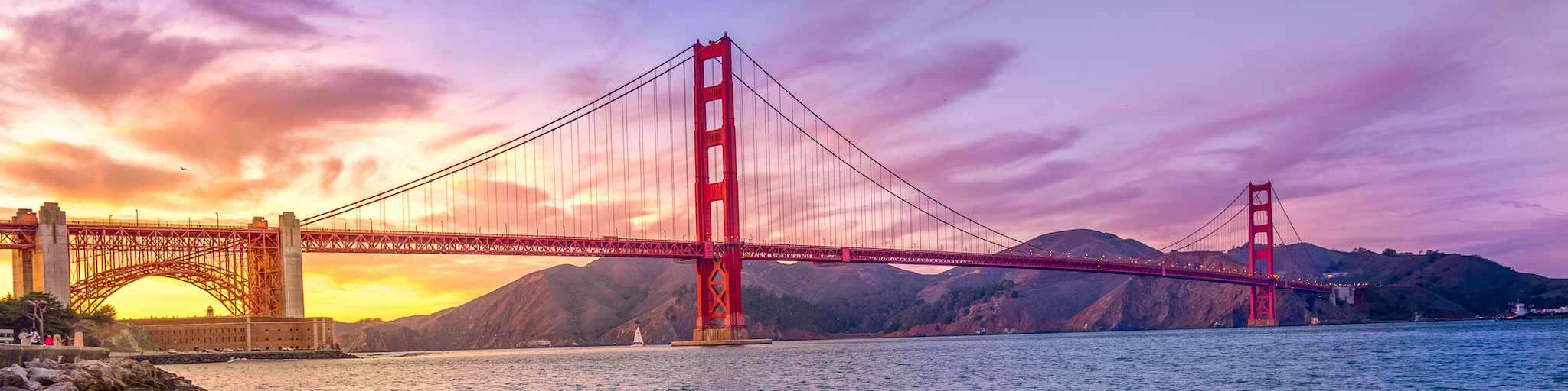 Golden Gate bridge image - public domain photo via Good Free Photos