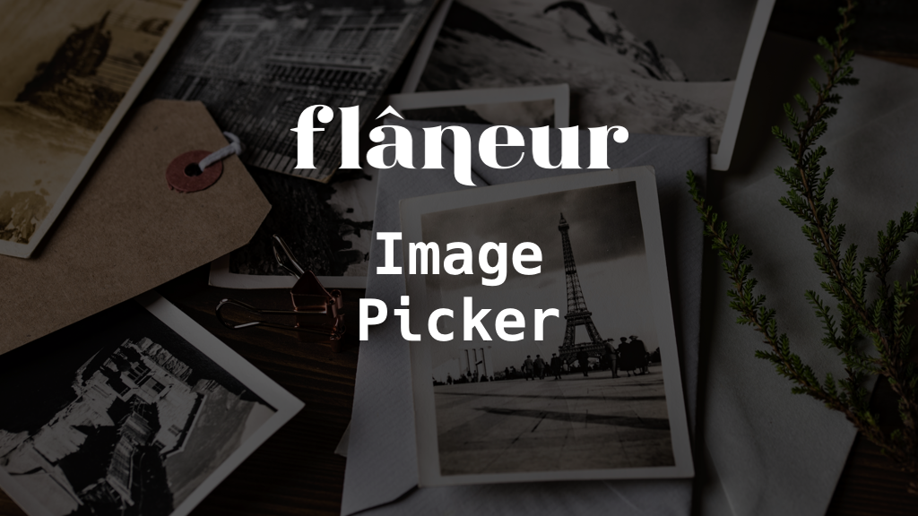 FlaneurImagePicker logo