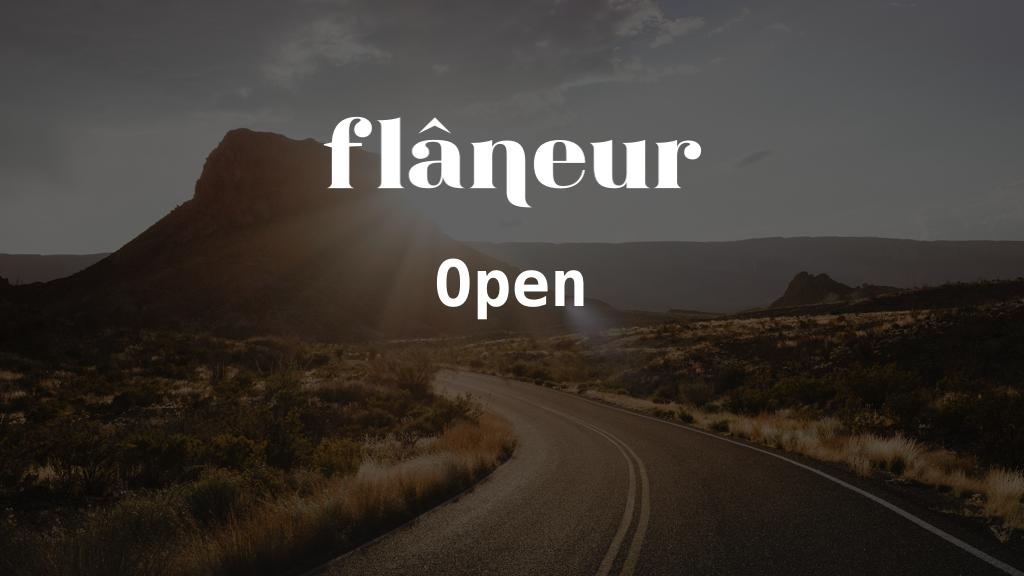 FlaneurOpen logo