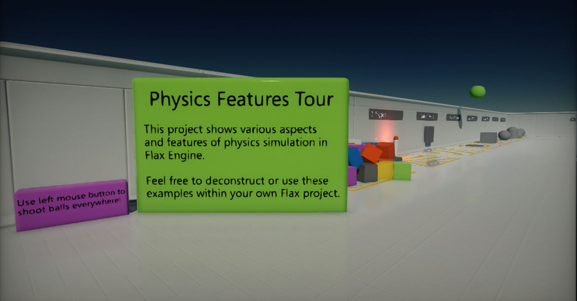 Physics Features Tour
