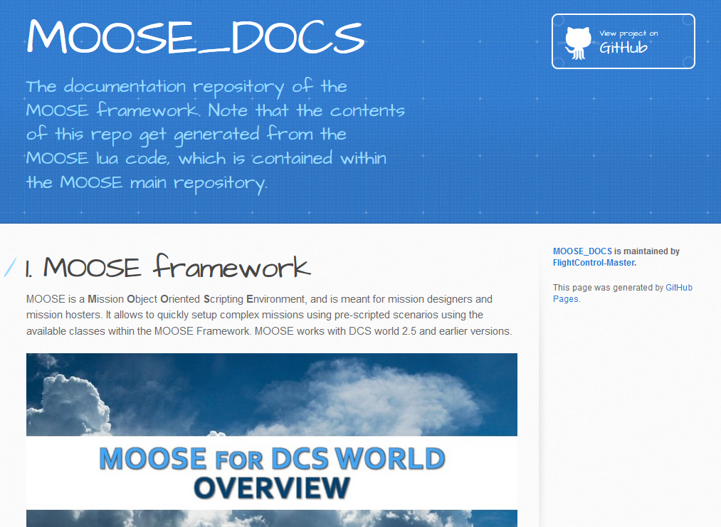 Click on this link to browse to the MOOSE main web page.