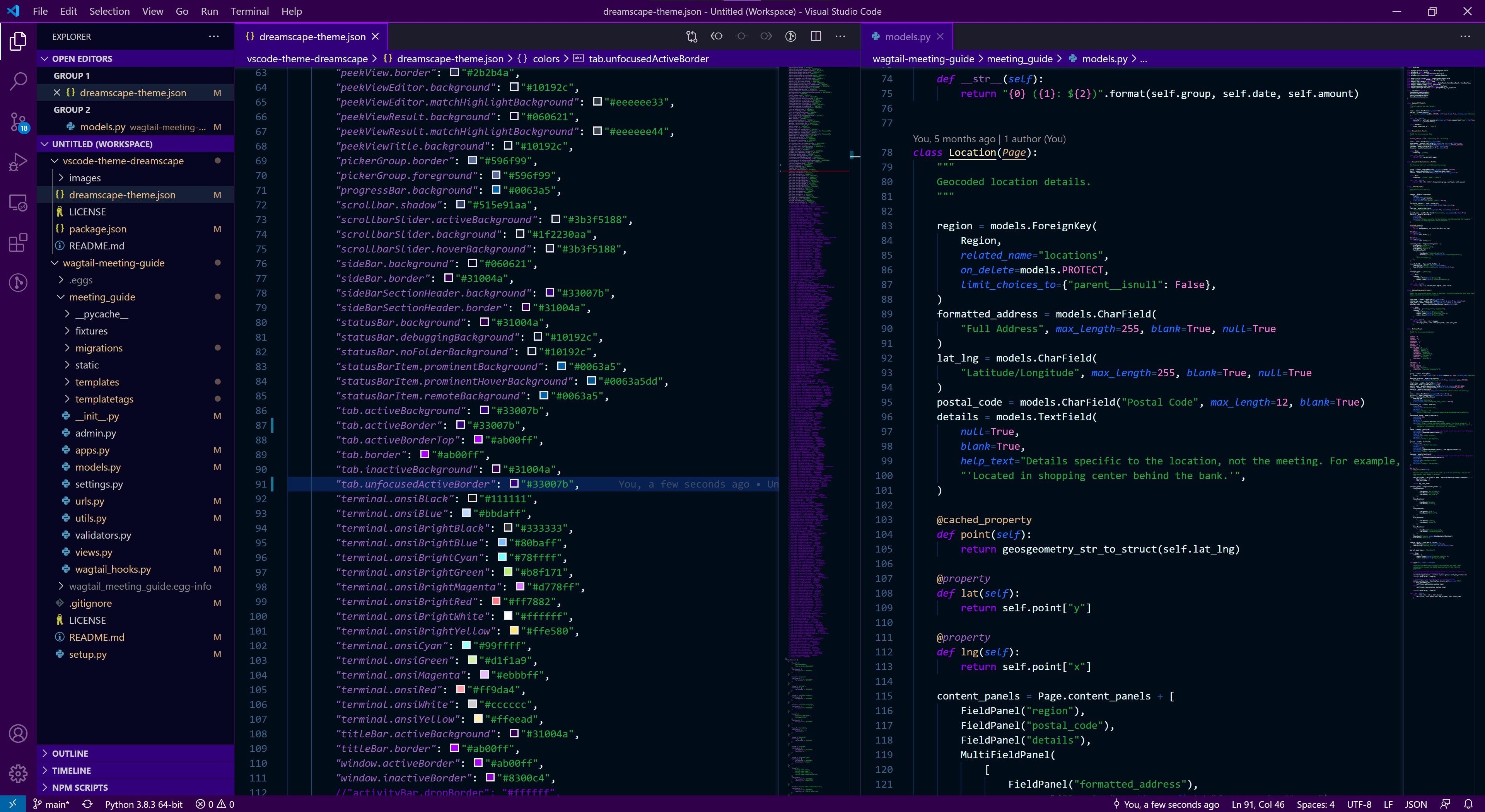 Full Editor Screenshot