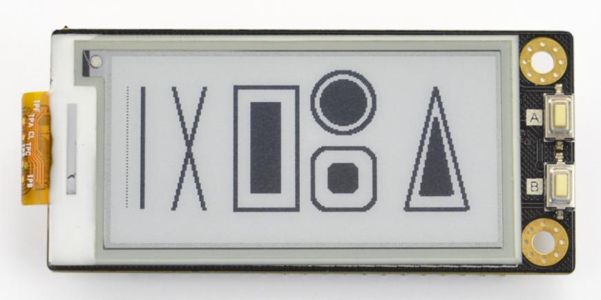 Geometrical figure display