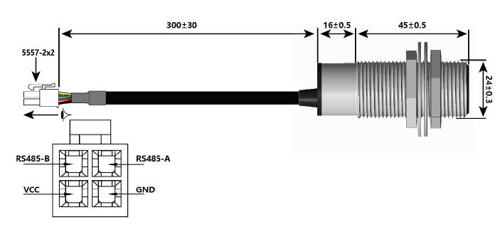 URM08-RS485 Interface Description