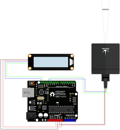 Connection Arduino LCD