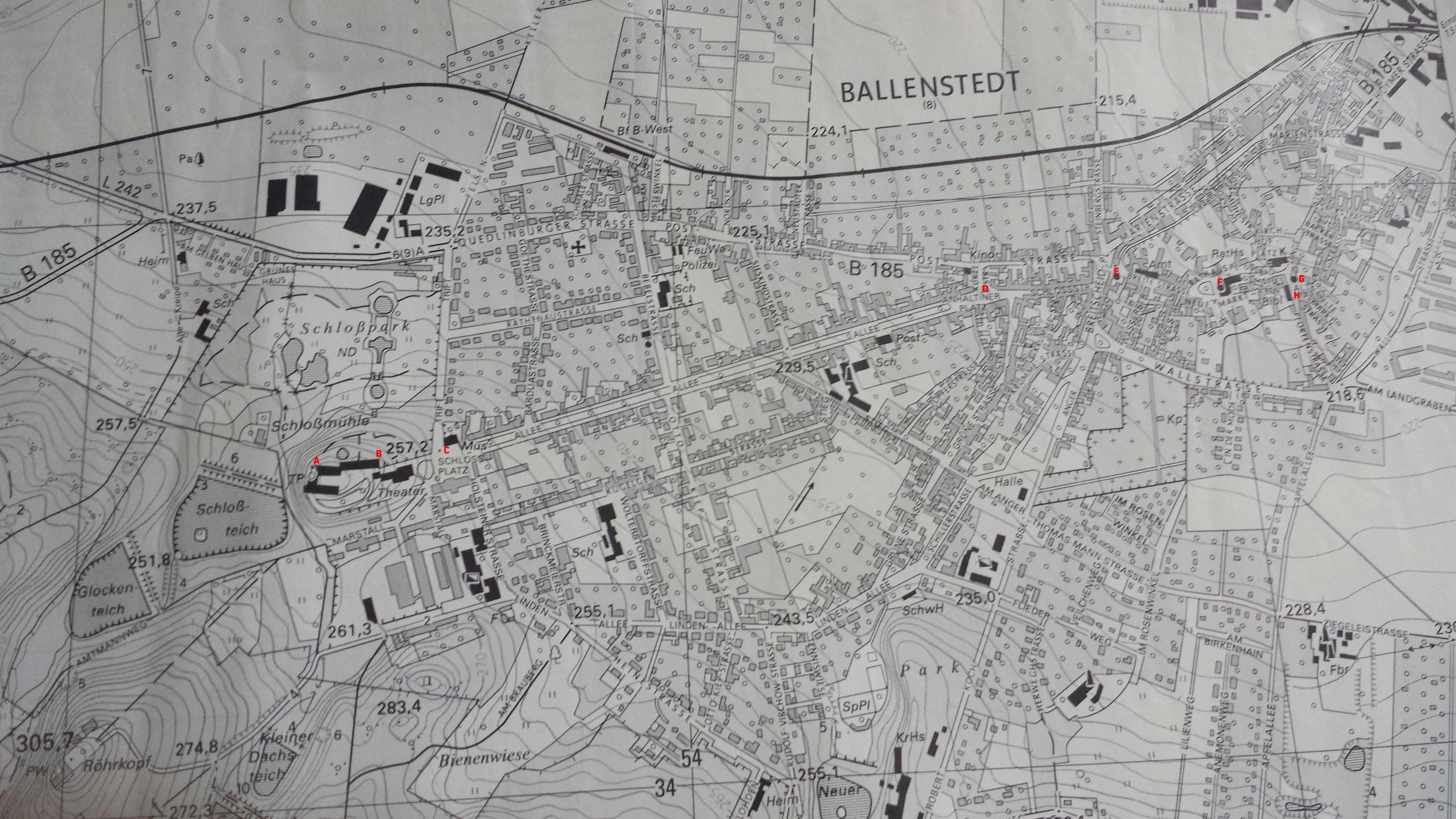 Topographische Map