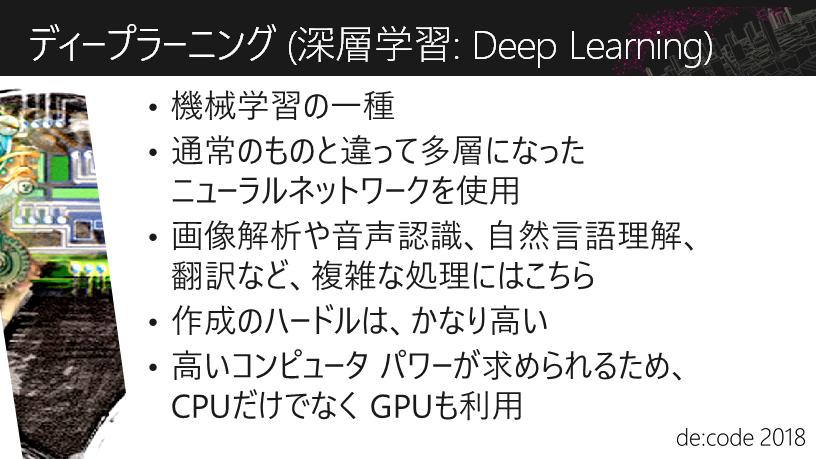ディープラーニング (深層学習: Deep Learning)