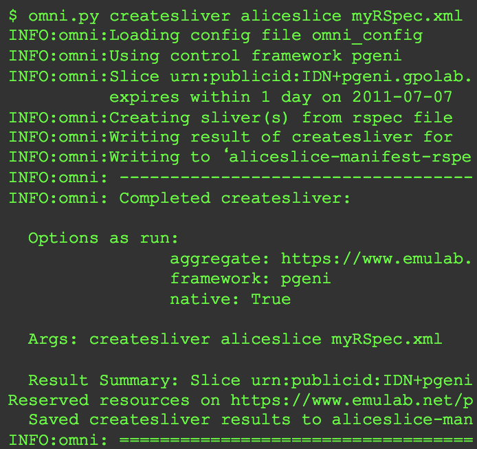 Omni web page