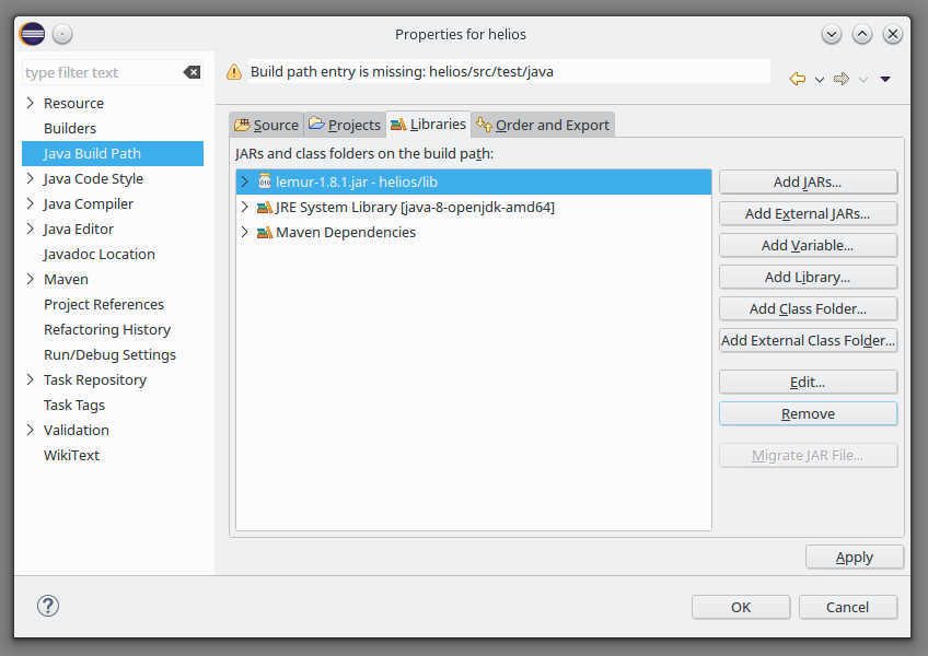 HowTo: Build HELIOS with Eclipse and Maven · GIScience