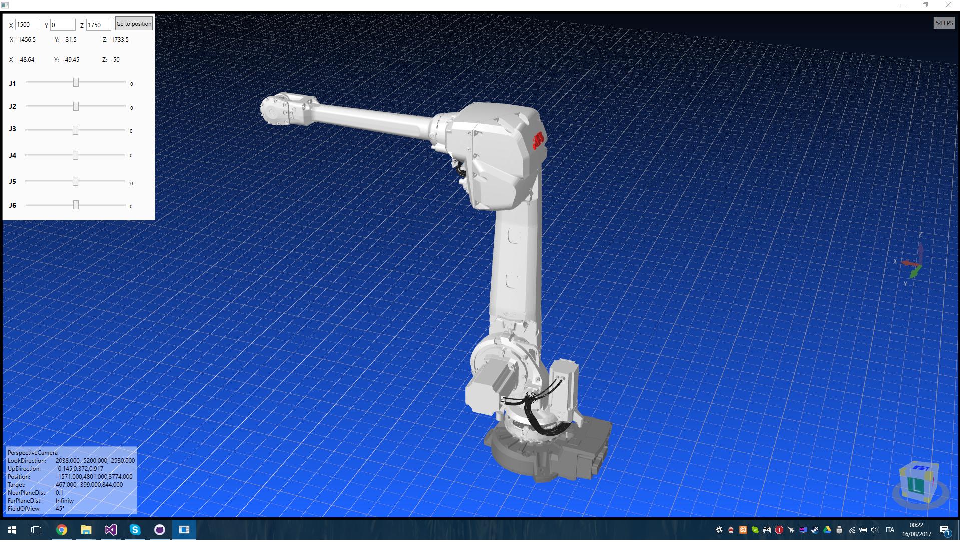 GitHub - Gabryxx7/RobotArmHelix: 3D Simulation, forward and inverse