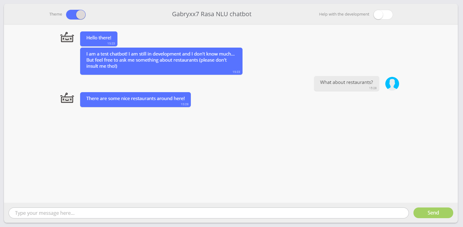 GitHub - Gabryxx7/chatbot-node-rasa: A simple chat bot based