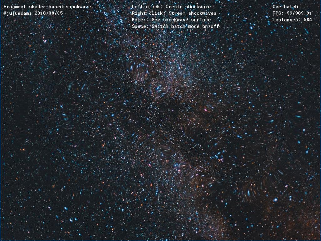 GitHub - JujuAdams/Shockwave: Fragment shader-based
