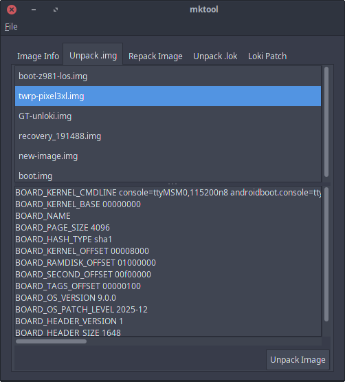 DEV][TOOL] mktool unpack/repack boot & recovery images - Android