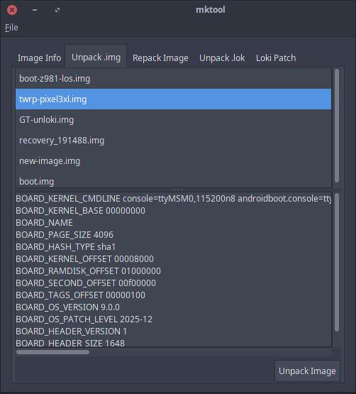 DEV][TOOL] mktool unpack/repack boot & recovery images