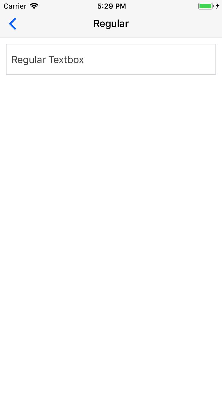 Preview ios regular-textbox-headref