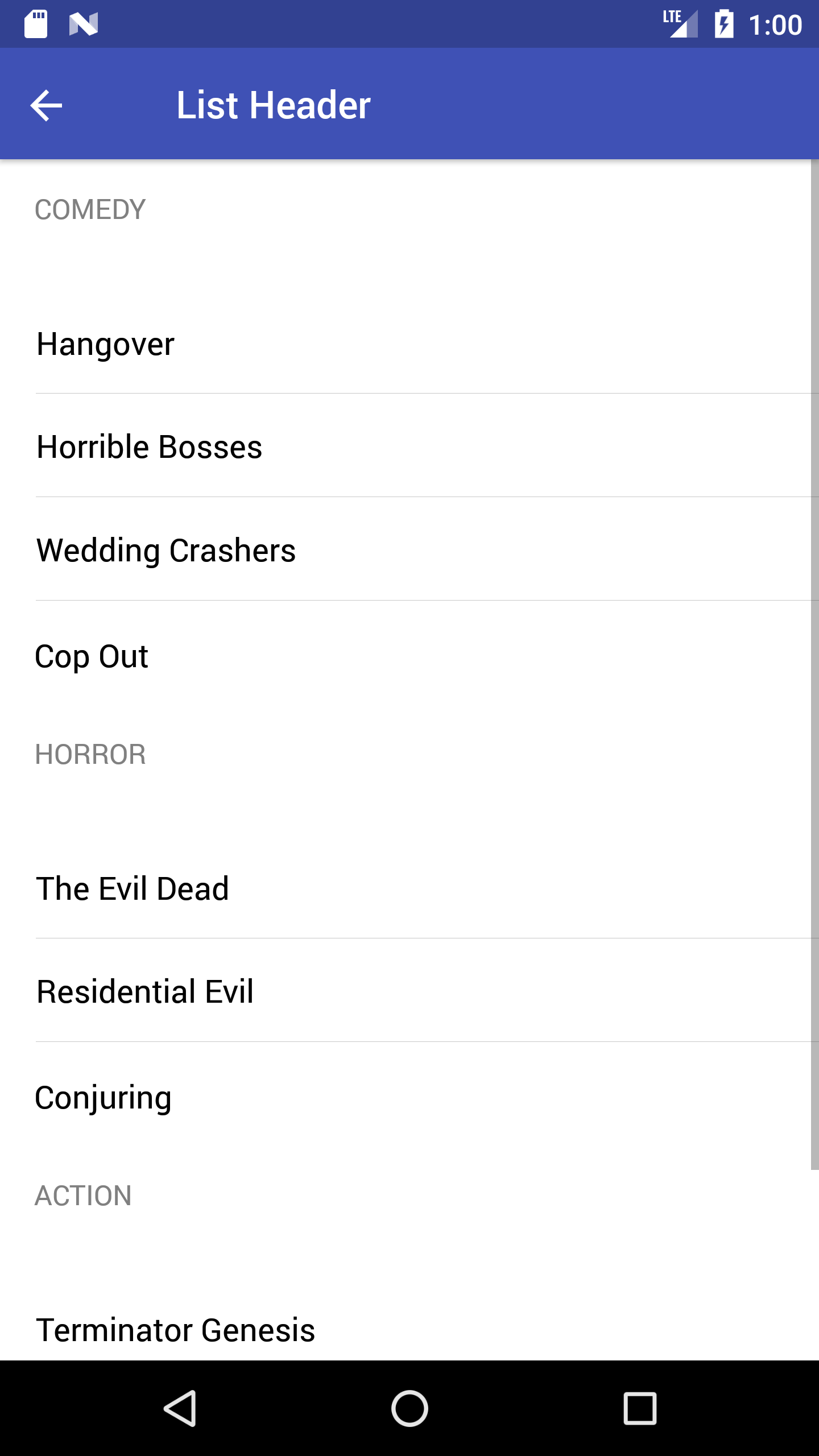 Preview android list-header-headref
