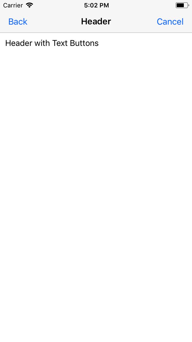 Preview ios header-text-button-headref