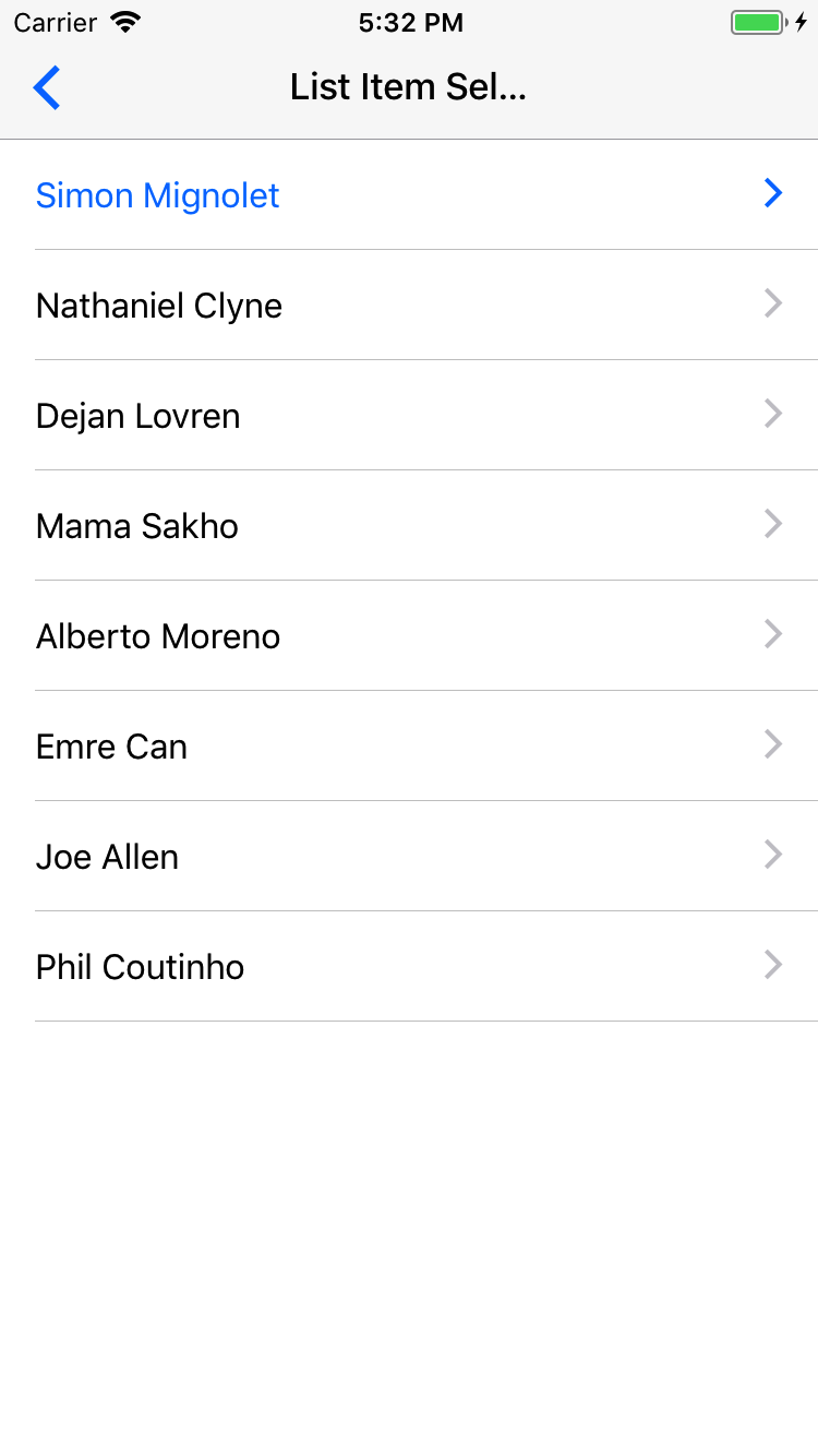 Preview ios listitem-selected-headref