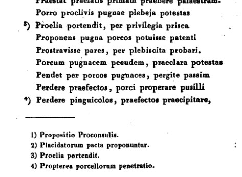 Sample of Pugna Porcorum Text