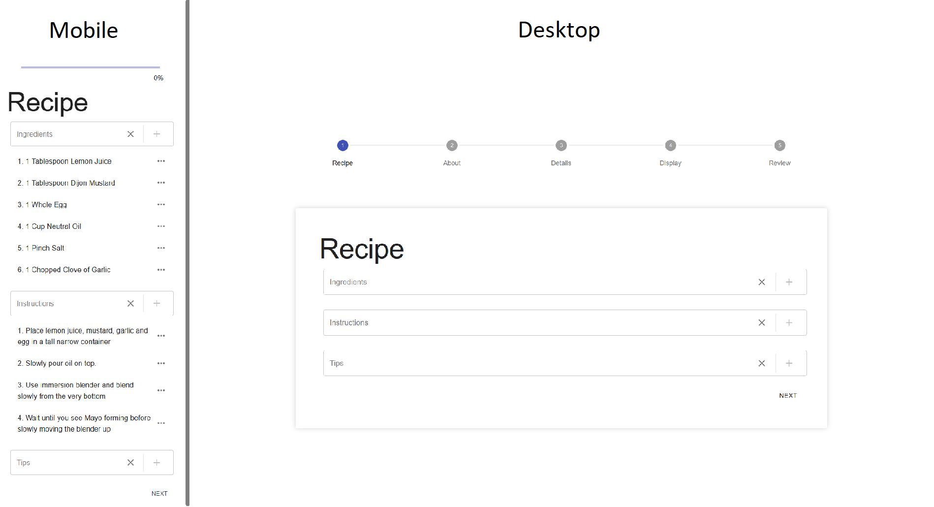 Mobile & Desktop Sample Image