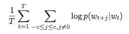 Skipgram objective
