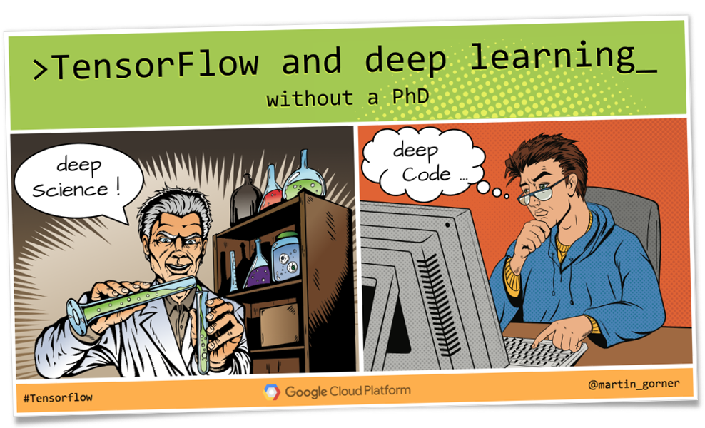 Tensorflow and deep learning without a PhD