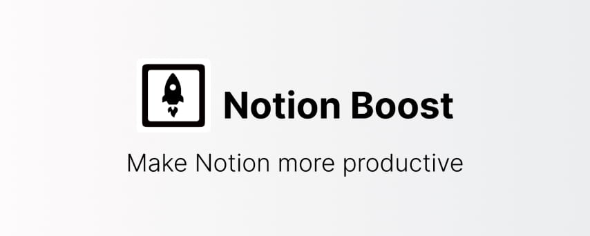 Notion Boost