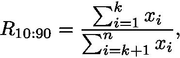 Ratio top formula
