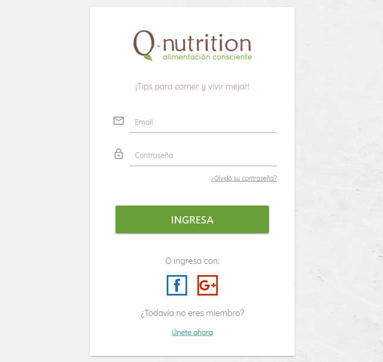 Social Network Q-Nutrition