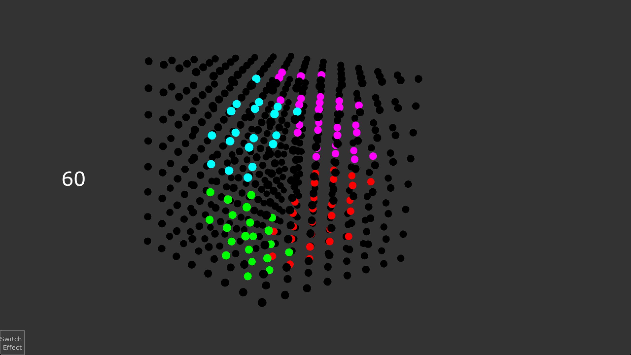 LED Pixel Mapping (3D Array/Volumetric)
