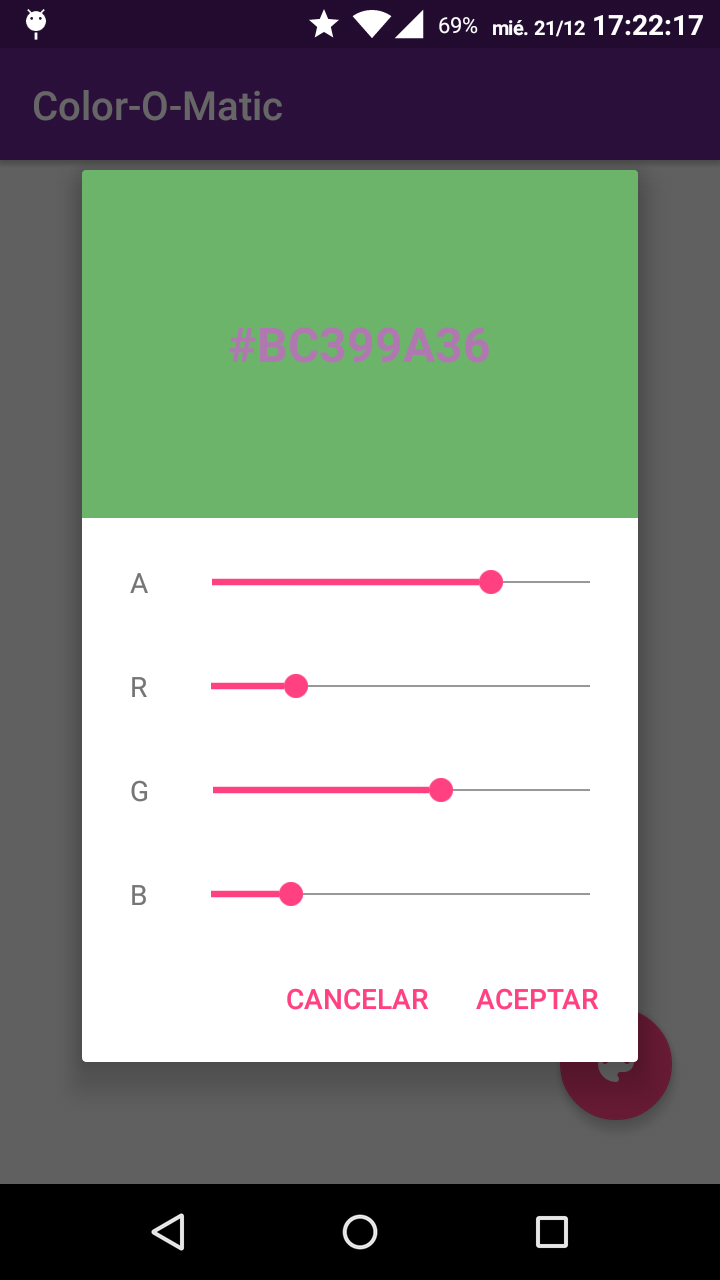 GitHub - GrenderG/Color-O-Matic: Beautiful color picker dialog for ...