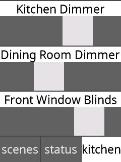 Slider/Dimmer Controls
