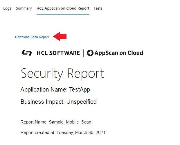 ASoC Report Download