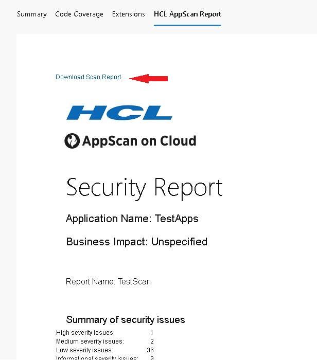 Report Download