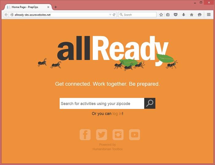 allReady web portal
