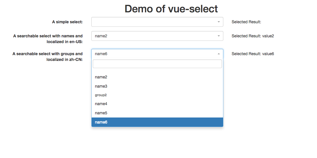 vue-select2 - npm