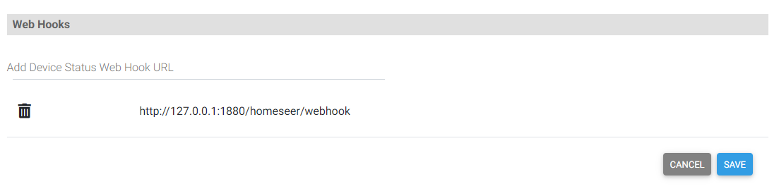 Webhook Configuration