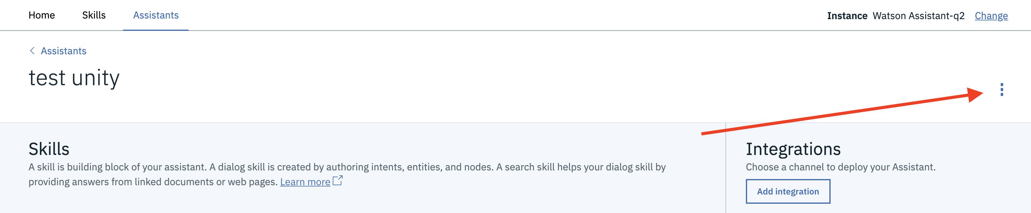 """Assistant Skills menu"""