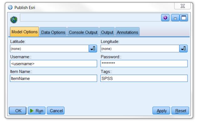 GitHub - IBMPredictiveAnalytics/Publish_to_ArcGIS: Publish your SPSS
