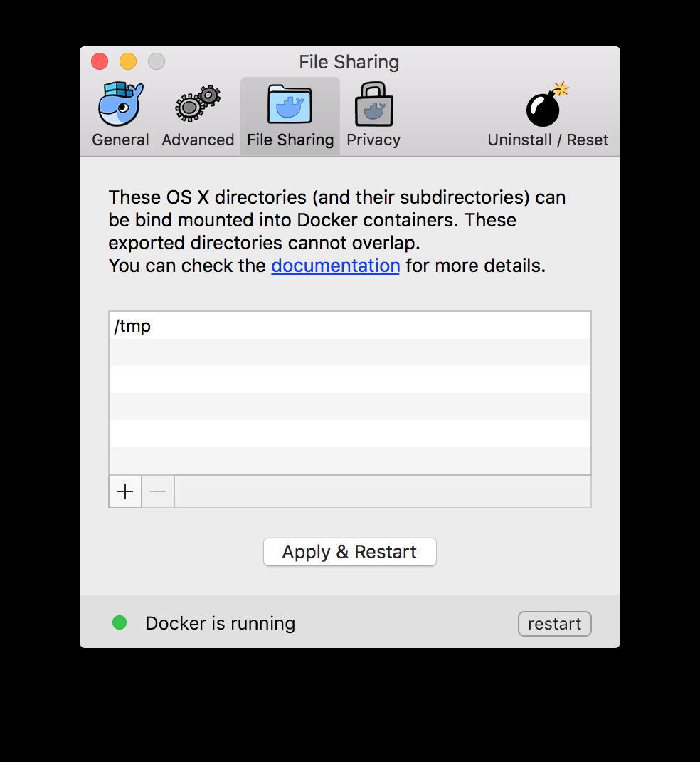 D4M Minimal File Sharing