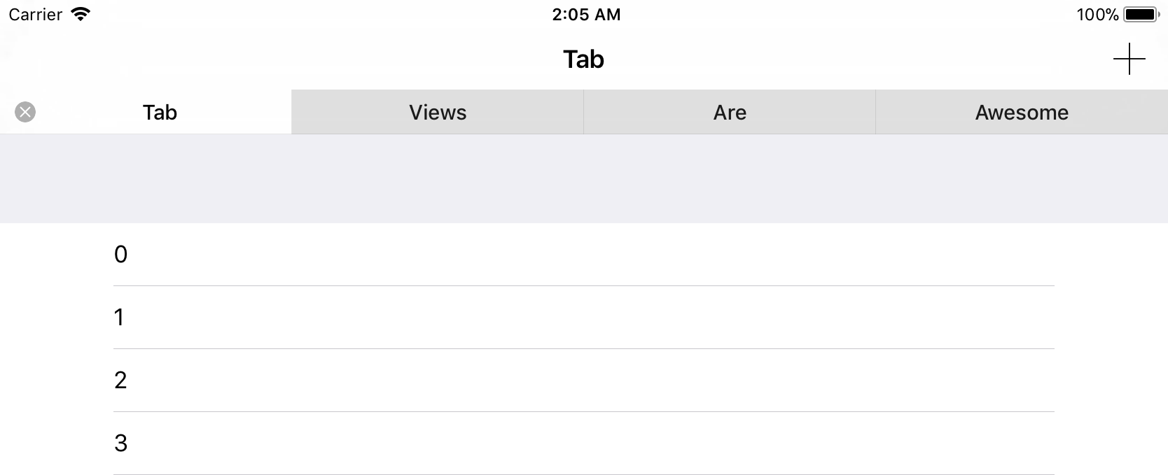 TabView