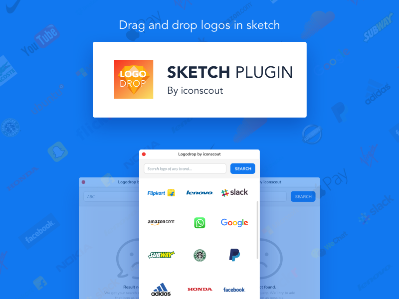 Logodrop plugin