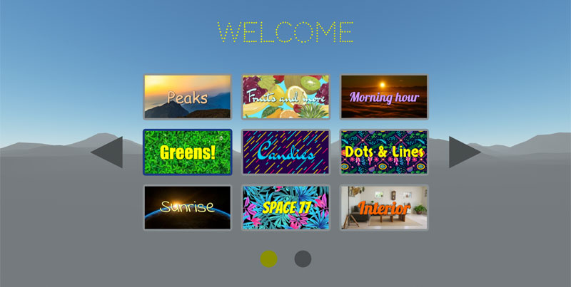 IdeaSpaceVR - Welcome Theme