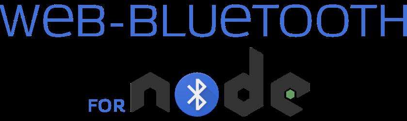 node-web-bluetooth logo