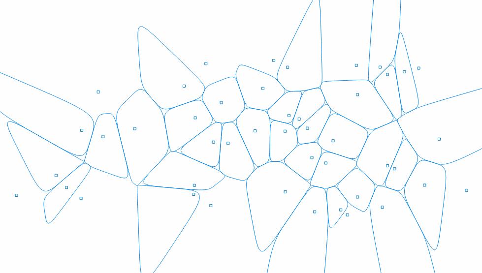 Voronoi Bézier Cells