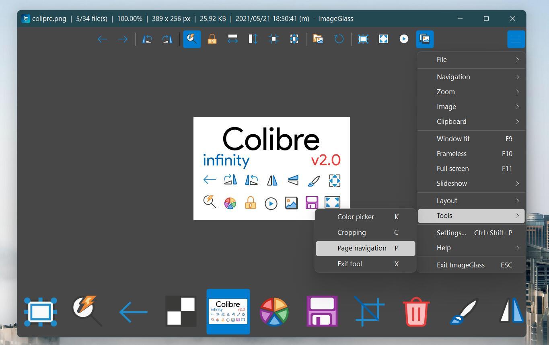 Colibre infinity 20px (Dark edit)