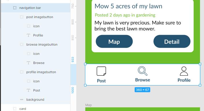 top navigation bar example