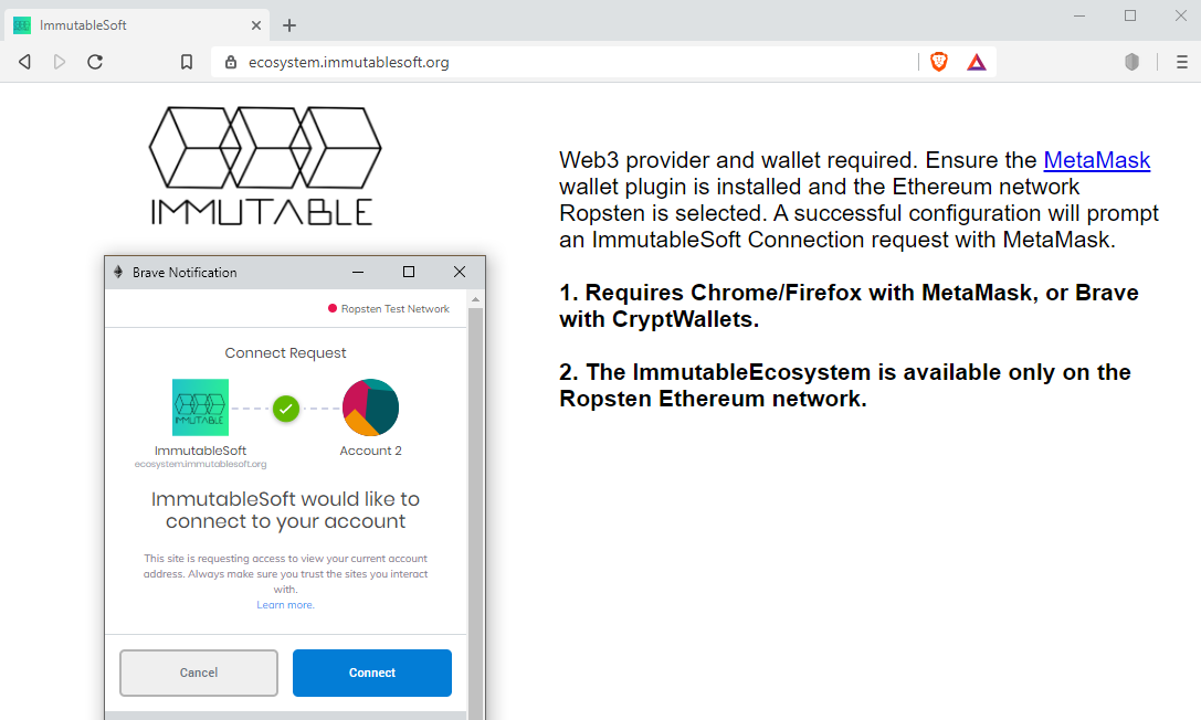 Immutable Ecosystem Documentation - 不变的生态系统文档