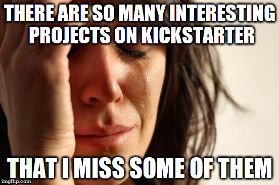 First World Kickstarter Problems